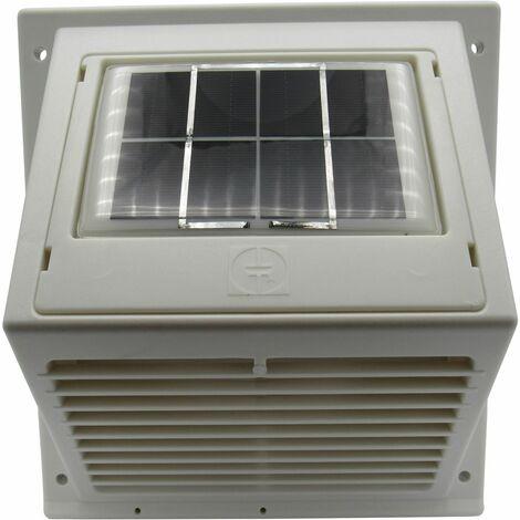 Solar Wall Mounted Extractor Fan - Motorhome Vent Ventilator