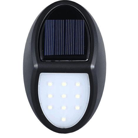 Solar Wandleuchte, Gartenleuchte, 10 LEDs