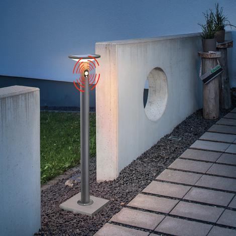 Solar Wegeleuchte Imperia Sensor Standleuchte Garten Solarleuchte