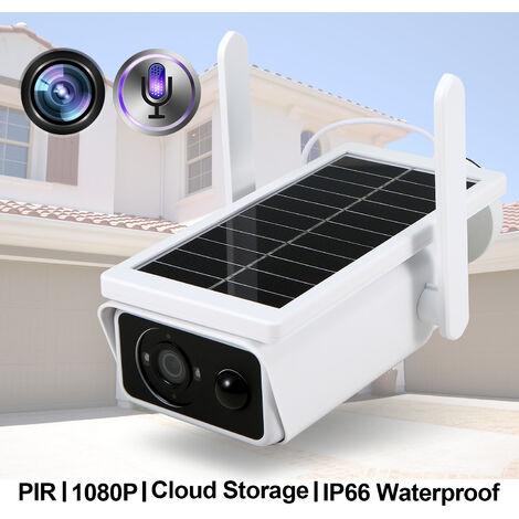 "main image of ""Solar Wifi Camera 1080P PIR Motion IR Night Vision Support Cloud Two Way Audio IR Night Vision IP66,model:Multicolor"""