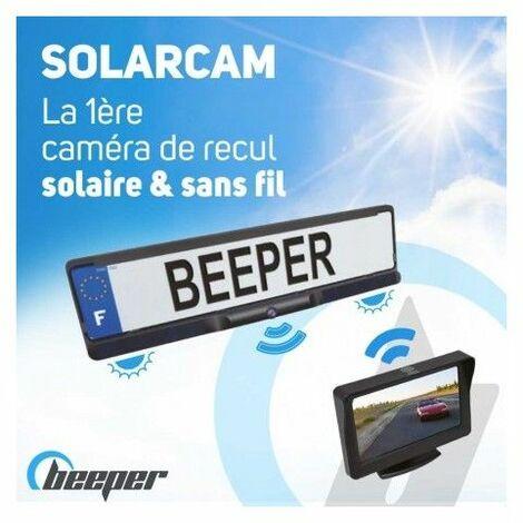 SOLARCAM - Caméra de recul solaire & sans fil avec écran 4,3'' 247.95