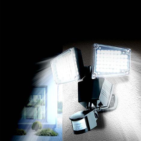 Solares LED con sensor de movimiento 100LED Lámparas solares foco solar para jardín para exterior Luz exterior