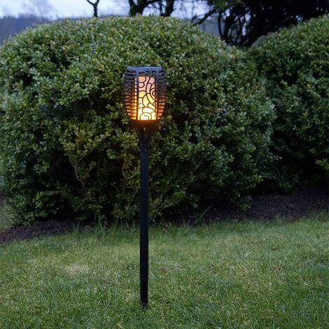 Solarfackel mit Flammeneffekt