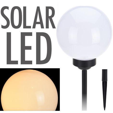 Solarlampe WARMWHITE - Ø 30cm