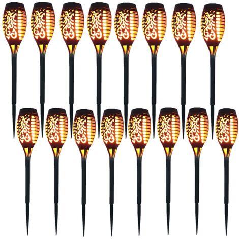 "main image of ""Solarlampen 100LED IP65 Wasserdicht Outdoor - 8er Pack"""
