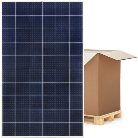 Solarmodul 300 Watt Polykristallin Solarpanel Solarzelle Photovoltaik Palette