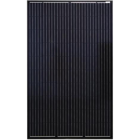 Solarmodul 310 Watt Photovoltaik Monokristallin Solarzelle Black Edition