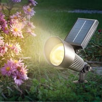 Solarstrahler Spotlight RGB Außenbeleuchtung Solar Solarleuchte, esotec 102134