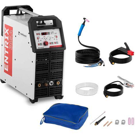Soldador De Aluminio TIG AC/DC Soldadora Digital Inverter Pulso 315A 400V