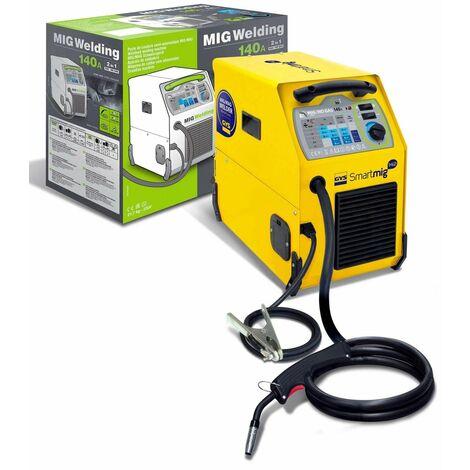 SOLDADOR MIG/MAG SMARTMIG 142 230V-F1 GAS/NO GAS GYS 374033153