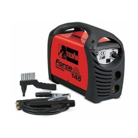 Soldadora electrodos MMA inverter TELWIN Force 145 + REGALO pantalla Force 145 (802818)