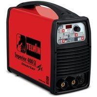 Soldadora electrodos MMA inverter TELWIN Superior 400 CE VRD