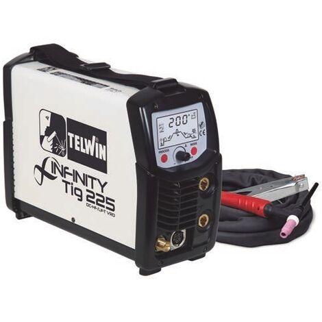 Soldadora inverter TELWIN Infinity Tig 225 DC-HF/Lift VRD