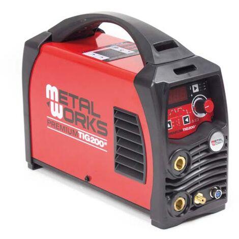 Soldadora Mig-Mag METALWORKS Premium Tig 200 HF