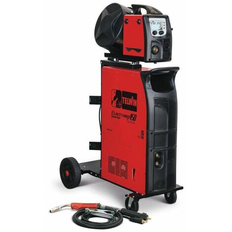 Soldadoras inverter, multiproceso MIG-MAG/FLUX/BRAZING/MMA y TIG DC-Lift TELWIN Electromig 450 Syner