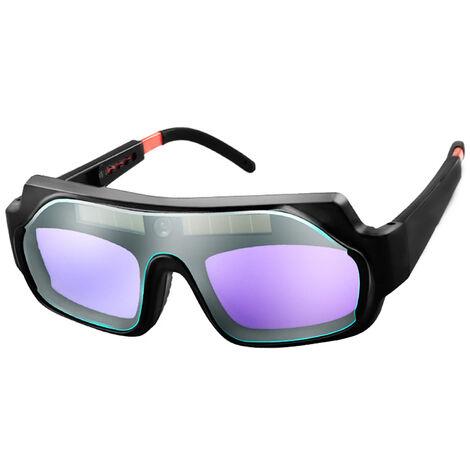 Soldadores automaticos de luz variable Gafas de soldadura Soldadura Protecciones antideslumbrantes Gafas de soldadura profesionales Soldadores de utilidad Herramientas de soldadura