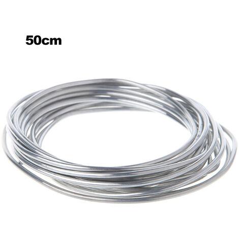 soldadura de tubo de aluminio condensador evaporador soldadura aire acondicionado del vehiculo refrigerador electrodo de aluminio a baja temperatura