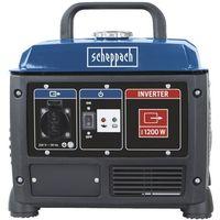Soldes Scheppach - Groupe életrogène 53,5ccm réservoir 4,2L Inverter - SG1200