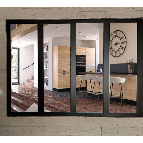 SOLDES - VERRIERE 4 VITRAGES CLAIRS H 1080 mm x L 1478 mm FABRIQUE ET ENVOYE DEPUIS LA France