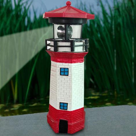 """Soleado faro solar faro giratorio 10.43x3.46 """"bombilla LED patio jardín lámpara decoración del hogar LAVENTE"""