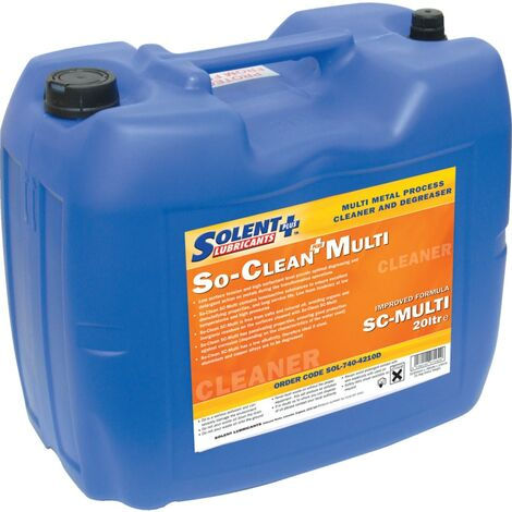Solent Lubricants Plus Multimetal Process Cleaner - 20 Litre