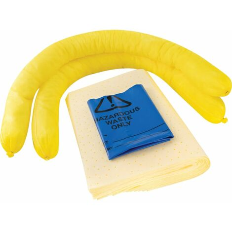 Solent Spill Control Spill Kit Chemical S+ 35L Cube Bag