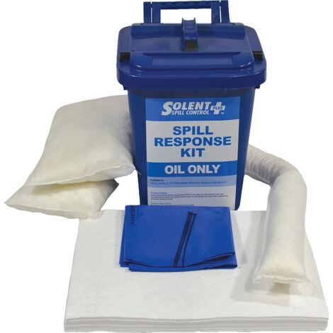 Solent Spill Control Spill Kit Oil Only S+ Caddy 25L