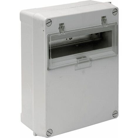 Solera caja de distribucion estanca IP54 IK07 12 elementos medidas 250X320X135mm instalacion en superficie