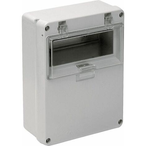 Solera caja de distribucion estanca IP54 IK07 8 elementos medidas 180X230X86mm instalacion en superficie
