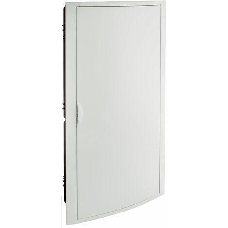 Solera caja de distribucion serie Arelos plastica para 56 elementos 4 filas instalacion empotrada