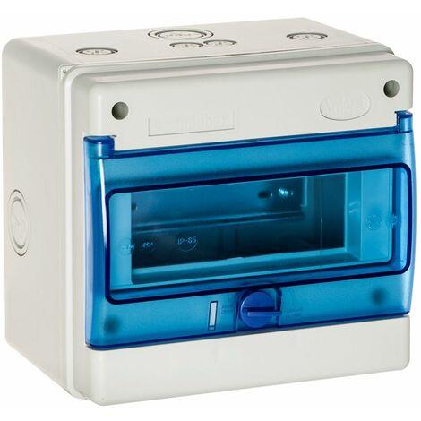 Solera INDUBOX caja de distribucion estanca IP65 IK08 8 elementos medidas 215x200x160mm instalacion en superficie