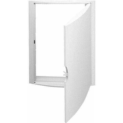 Solera marco y puerta termoplastica blanca