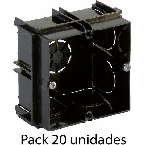 Solera pack 20 universal para mecanismo enlazable 65x65x40