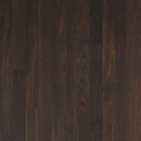Solid Black Oak Wood Worktop Upstand 3M X 80 X 18mm