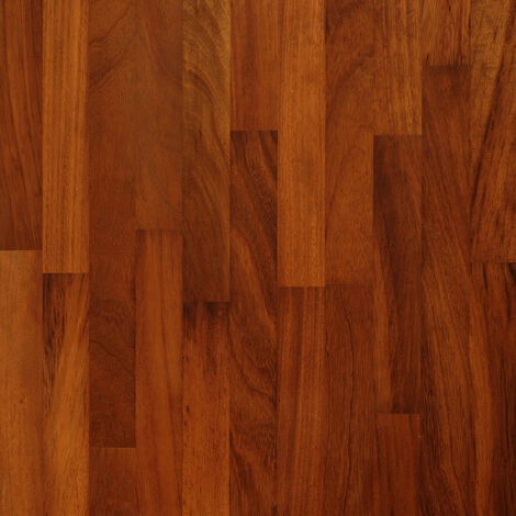 Solid Iroko Wood Worktop Plinth 3M X 150 X 20mm