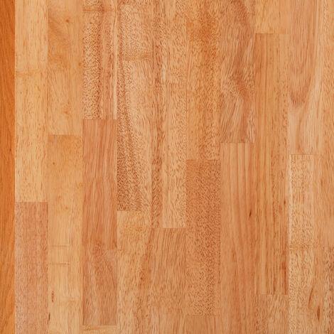 Solid Rubberwood Wood Worktop Plinth 3M X 150 X 20mm