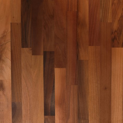 Solid Walnut Wood Worktop Plinth 3M X 150 X 20mm