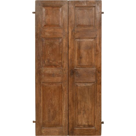 """main image of """"Solid wood and iron front door for interior or exterior use, old and medieval"""""""