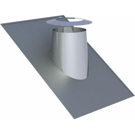 Solin de toit Diam 130 mm inclinaison 26-35°