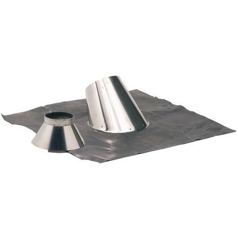 Solin inox 30° a 45° + collet O180
