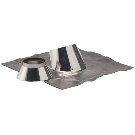 Solin inox 5° a 30° + collet O153