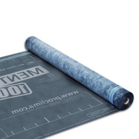 SOLITEX MENTO 1000 PROCLIMA : Ecran de sous-toiture triple couche 50m x 1m50 | rouleau(x) de 75 m² 0 épaisseur | 50m x 1m50 = 75m²