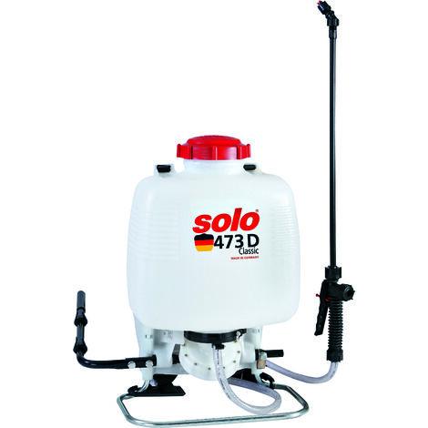 Solo Classic 473D Knapsack Garden Pressure Sprayer 10 Litre with Diaphragm Pump