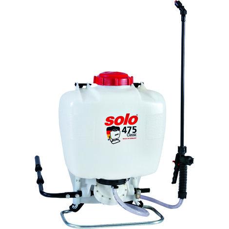 Solo Classic 475D Knapsack Garden Pressure Sprayer 15 Litre with Diaphragm Pump