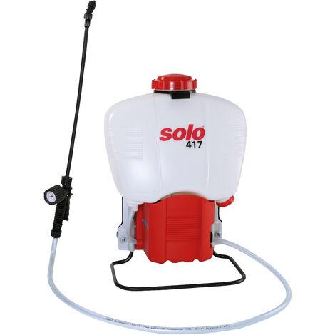 Solo Comfort 417 Knapsack Backpack Battery Operated Garden Pressure Sprayer 18-Litre
