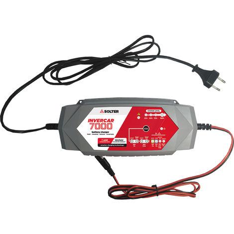 Solter Cargador de batería Invercar 7000 12V/24V 16A