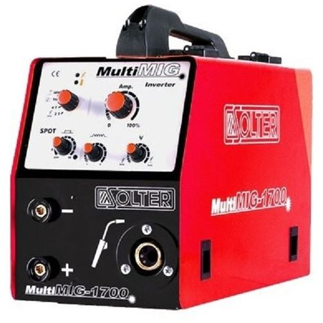 SOLTER MIG MULTIMIG 1700 C/ANTORCHA Y REGULADOR