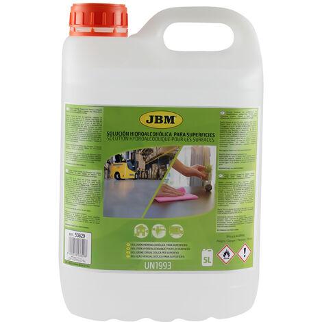 Solution hydroalcoolique pour les surfaces - 5l