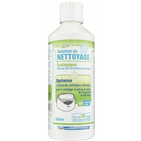Solution liquide de nettoyage pour nettoyeurs ultrasons