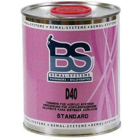 Solvant Acrylique Standard D40